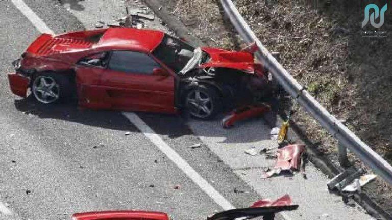تصادف با خودرو لوکس